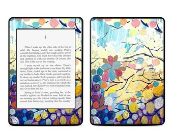 Amazon Kindle Skin - Hemsted Catkins by Bryony and Bloom - Sticker Decal - Fits Paperwhite, Fire, Voyage, Touch, Oasis