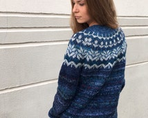 Einzigartige artikel zum thema merinopullover etsy - Fair isle pullover damen ...