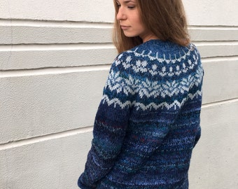 fair isle sweater taupe sweater women 39 s sweater norvegian. Black Bedroom Furniture Sets. Home Design Ideas