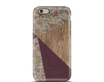 iPhone 6s case Wood iPhone 6 Plus case Wood iPhone 4s case iphone 6 Floral iPhone 5 case Geometric iPhone 5s case purple iphone case, rustic