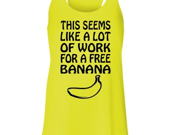 Free Banana - Running Tank Top
