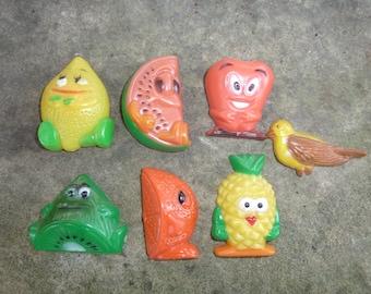Fruit and Vegetable Magnets Vintage Magnet