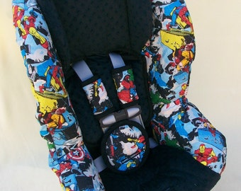 SALE!  Ready to ship New Britax Marathon, Marathon 70, Marathon 70 G3  and G4 Car Seat Marvel Comic