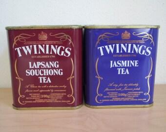 Vintage Twinings Tea Tins