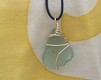 Aqua blue seaglass from Hana-maui