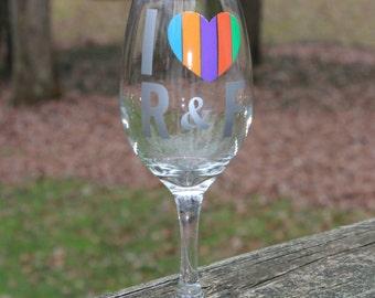 R&F Wine Glass
