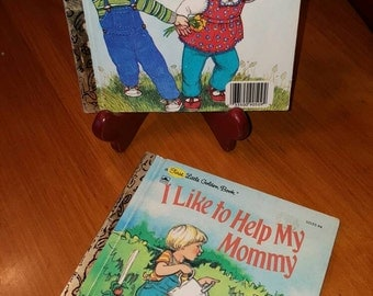 2 Sweet a First Little Golden Books, I Can FLY and I Like to HELP My MOMMY