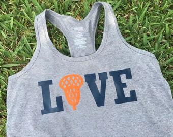 Lacrosse Love Tank with net