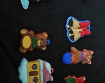Painted Ceramic Ornaments