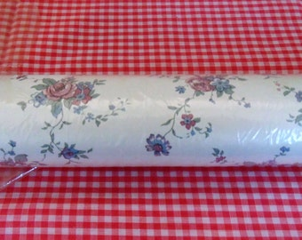 Vintaage Wallpaper Roll Floral Wallpaper Vintage Wall Decor