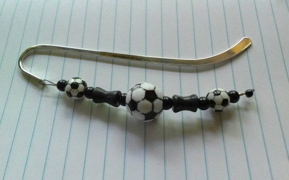 Soccer Gift, Bookmark, Gift for Soccer Player, Coach Present, Soccer Mom Gift Idea, Soccer Lover, Sports Birthday, Soccer Accessory