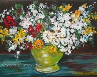 Flowers Floral Still Life Art Print