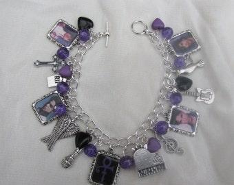 Prince Photo  Charms Bracelet