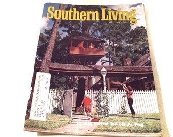 One Vintage Southern Living Magazine