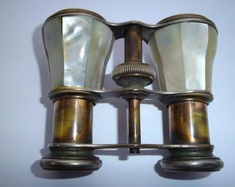 Mother of Pearl Opera glasses , Binoculars 1940's era