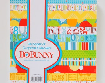 CLEARANCE!  Bo Bunny Surprise! 6x6 Paper Pad