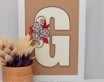 personalized wall letter, personalized gift, personalized monogram, personalized letter, personalized decor, personalized home decor