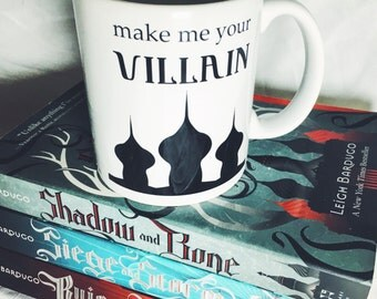 Grisha Mug Inspired by The Darkling