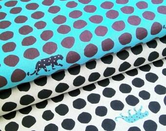 "0,5 m japanese fabric ""Panther"" 110 cm br. Kokka"