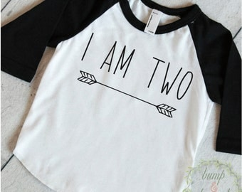 Two Year Old Birthday Shirt Boy 2 Years Old Birthday Outfit Raglan Toddler Shirt 2nd Birthday Shirt Hipster Boy Clothes Modern Arrow 130