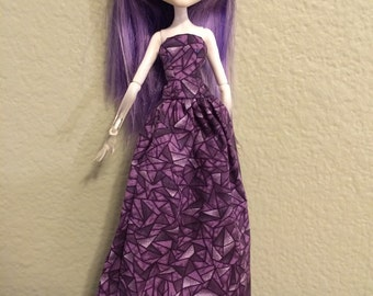 Purple Evening Dress for Monster High