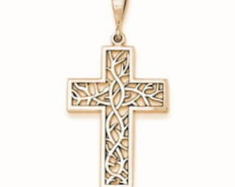 Thorn Cross Pendant (D1596)