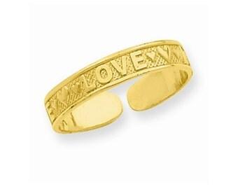 Love Toe Ring (R551)