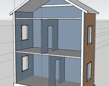 doll house floor plans