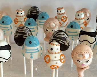 Star Wars Cake Pops, The Last Jedi