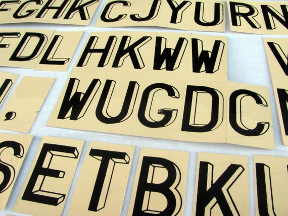 Metal Alphabet Letters For Crafting