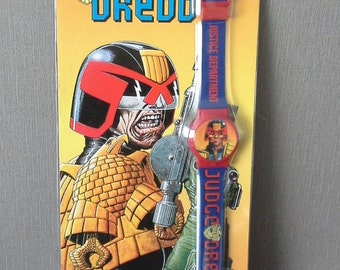 Judge Dredd watch unused still boxed