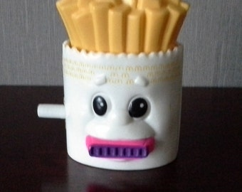 mcdonalds fries happy meal toy