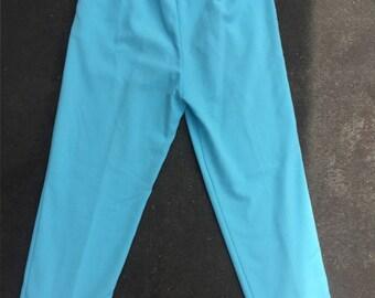 High Waisted Blue Pants