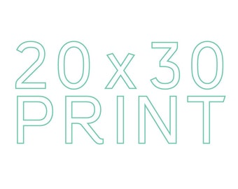 Make any print 20x30