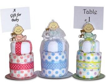 New Baby Mini Diaper Cakes