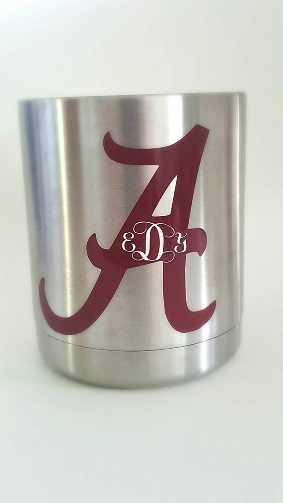 Alabama Crimson Tide Yeti Cup Decal By Laceyslace On Etsy