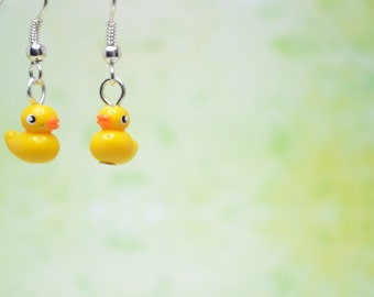 Little Ducklings, Earrings OR Necklace