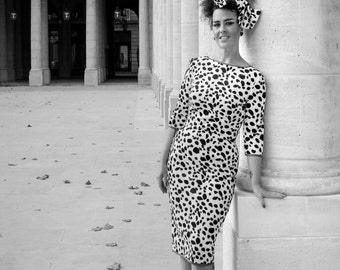 "Plush dress pencil ""Dalmatian"""