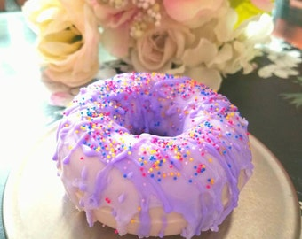Delightful Glazed Donut Soap