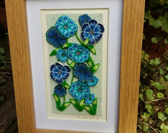 Turquoise Flower Picture