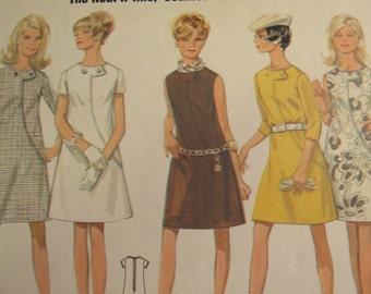 Butterick 4818 Womens size 16 Dress