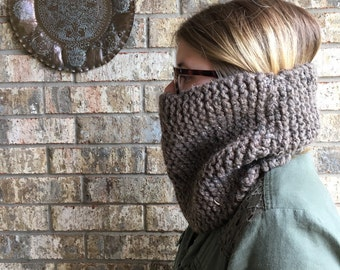 Barley Knit Cowl