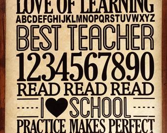 Teacher Appreciation Tile