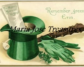 Vintage Saint Patricks Day Images 4 - Digital Download