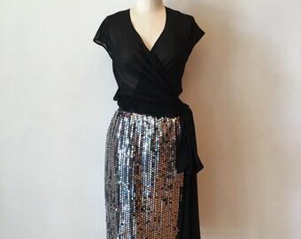 "Vintage ""Disco Ball"" Skirt"