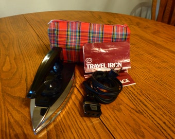 Vintage Charles Craft Travel Iron