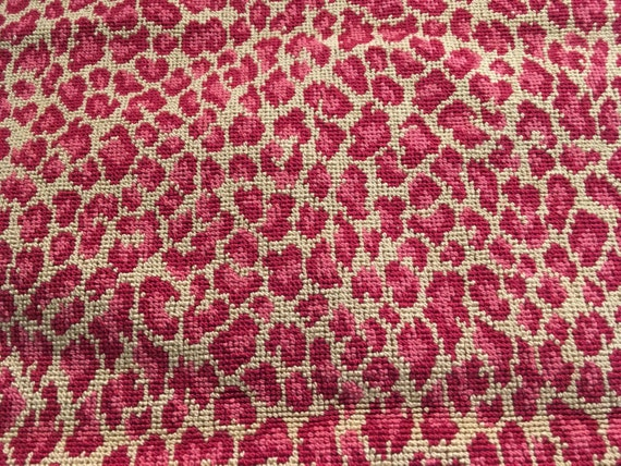 Lee Jofa Animal Print Red Pink Upholstery Fabric By Lydiabella