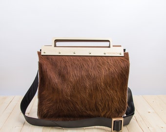 MOOSCH DOC LARGE | large leather doctor's bag