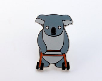 Bad Hip Koala Pin