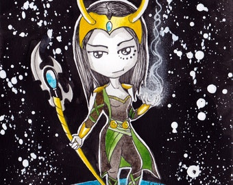 Ana Dess in Loki - Illustration